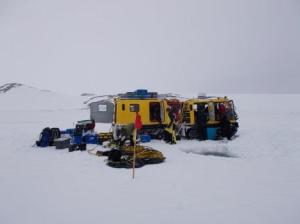 Our first dive of the season at O'Brien Bay, Windmill Islands, East Antarctica. November 2014